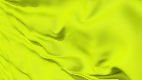 Rippled Yellow Fabric Background Animation