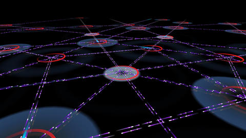 Network City 2h HD Stock Video Footage