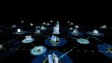 Net City 3a HD stock footage