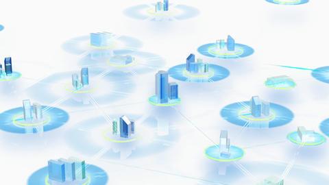 Net City 3bw HD Animation