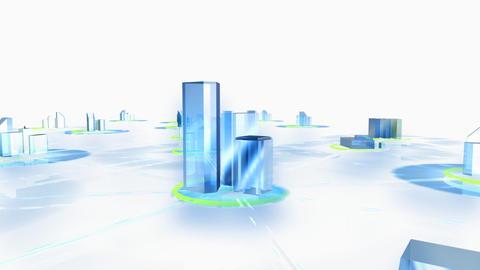 Net City 3cw HD Stock Video Footage