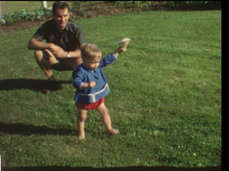Baby's first steps (8mm-film) Footage
