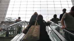NYC Escalator Stock Video Footage