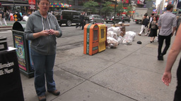 NYC Garbage Pile Stock Video Footage