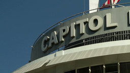 Capitol Records Building 01 Stock Video Footage