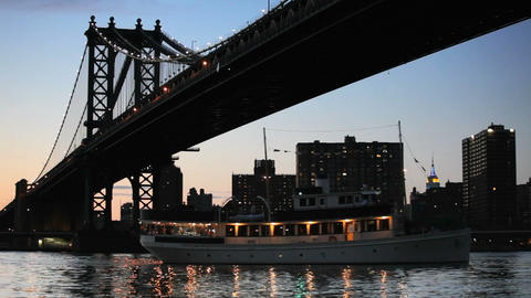 Manhattan Bridge Stock Video Footage