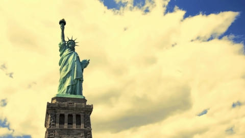 Statue of Liberty Stock Video Footage