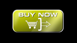 Online Shopping 3 in 1 yellow with matte LOOP Stock Video Footage