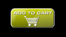 Online Shopping Add To Cart 04 yellow LOOP Stock Video Footage