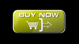 Online Shopping Buy Now 04 yellow LOOP Stock Video Footage