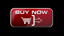 Online Shopping BUY NOW 4 in 1 with matte LOOP Stock Video Footage