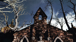 Scary Scene Halloween 02 Stock Video Footage