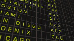 US Domestic Airport Timetable All Flights Get Cancelled 02 Animation