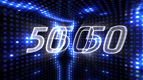 Countdown A60b Stock Video Footage