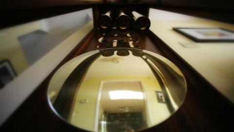 Clock Pendulum Stock Video Footage