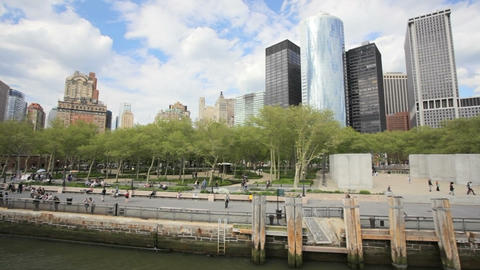 Battery Park Footage