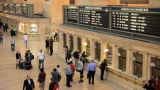 Grand Central Station Ticketing stock footage