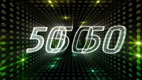 Countdown A60h HD Stock Video Footage