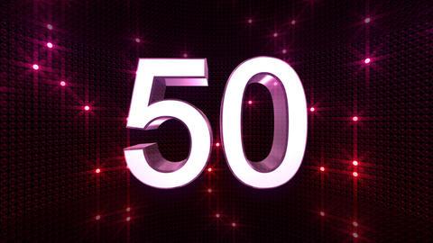 Countdown B60b HD Stock Video Footage