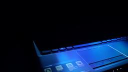 Keyboard Of Laptop stock footage