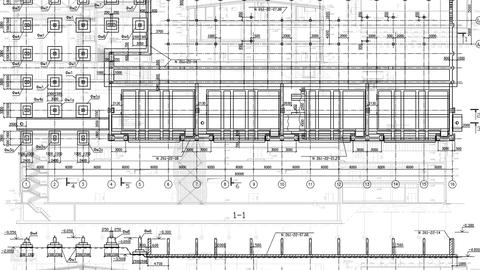 Construction Drawings Background