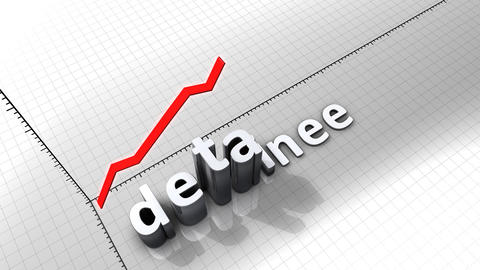 Growing chart graphic animation, Detainee Animation