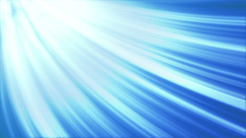 curved blue light rays loopable background Animation