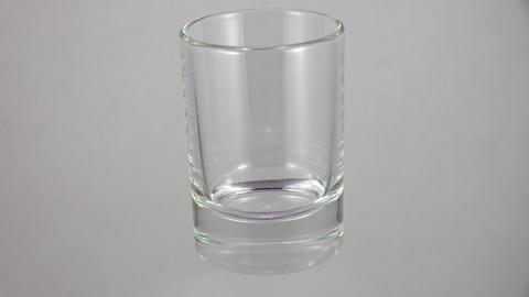Crystal wineglass. 4K Footage