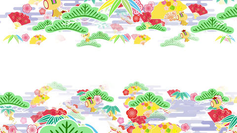 Japanese Pattern Engimono A 1 4k stock footage
