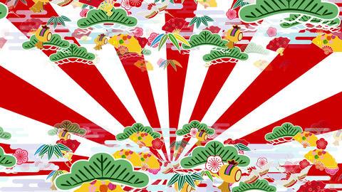 Japanese Pattern Engimono A 1rw 4k Animation