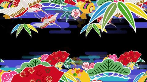 Japanese Pattern Engimono As 1b 4k Animation