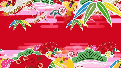 Japanese Pattern Engimono As 1r 4k Animation