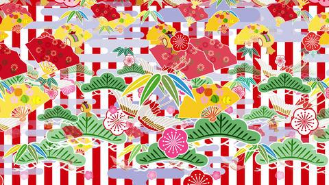 Japanese Pattern Engimono B 1rw 4k Animation