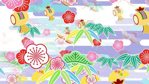 Japanese Pattern Engimono Bs 1 4k Animation