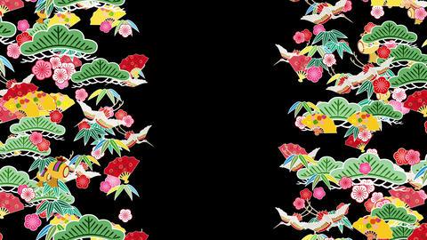 Japanese Pattern Engimono C 1b 4k Animation