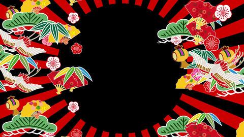 Japanese Pattern Engimono Cs 1b 4k Animation