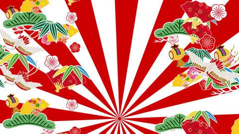 Japanese Pattern Engimono Cs 1rw 4k Animation