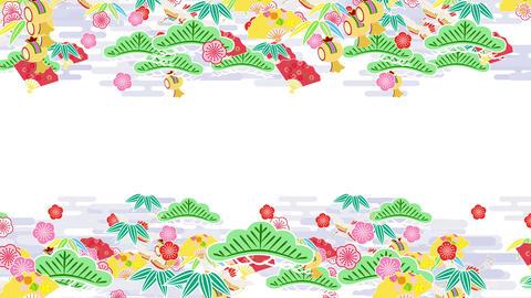 Japanese Pattern Engimono K 1 4k Animation