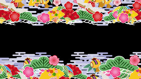 Japanese Pattern Engimono Ks 1b 4k Animation