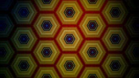 hexagonal tile pattern Animation