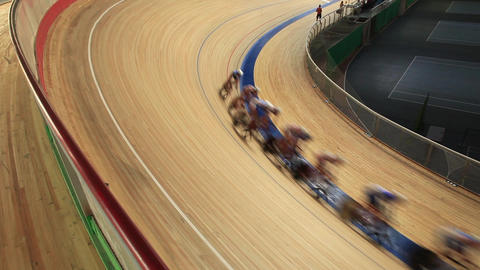 bike track racing Footage
