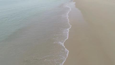 Aerial Shot Over Beach Footage