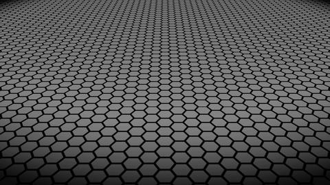 Hexa Floor Gray stock footage