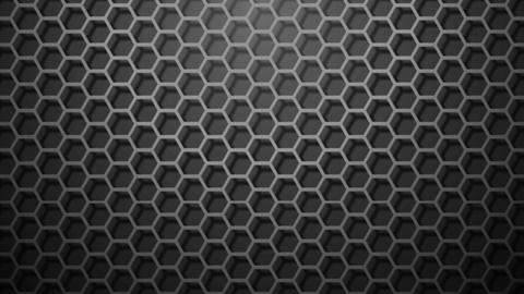 honeycomb pattern monochrome Animation