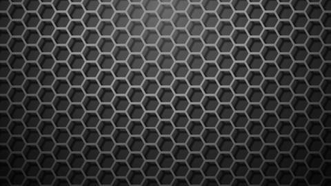 Honeycomb Pattern Monochrome stock footage