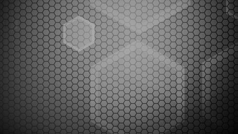 hexagonal blending monochrome Animation