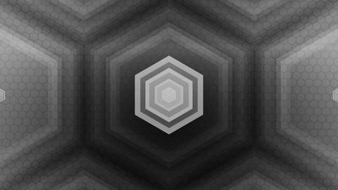 tripple hexagonal center Animation