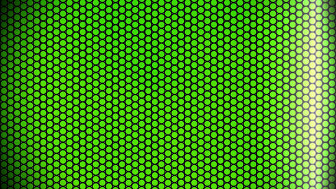 green dot background Animation