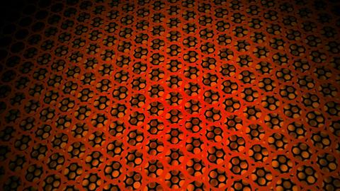 orange dot tiles Animation