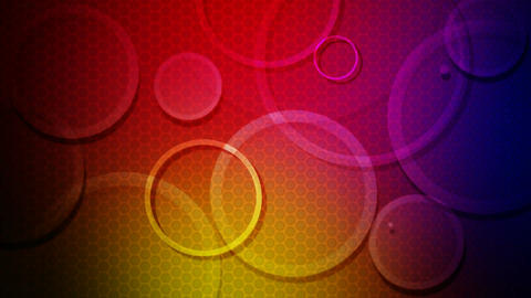 circle glow overlay Animation